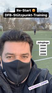 Der Re-Start beim DFB-Stützpunkt Training in Wiesbaden